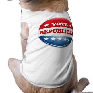 VOTE REPUBLICAN DOG T SHIRT