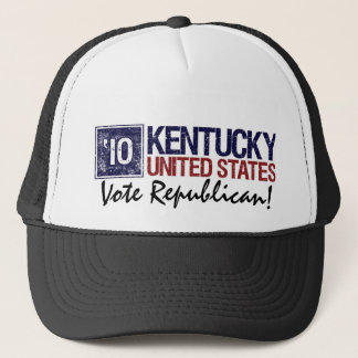 Vote Republican in 2010 – Vintage Kentucky Trucker Hat