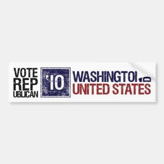 Vote Republican in 2010 – Vintage Washington DC Bumper Sticker