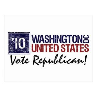 Vote Republican in 2010 – Vintage Washington DC Postcard