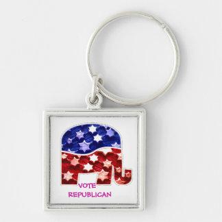 Vote Republican Keychain