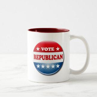 VOTE REPUBLICAN Two-Tone COFFEE MUG