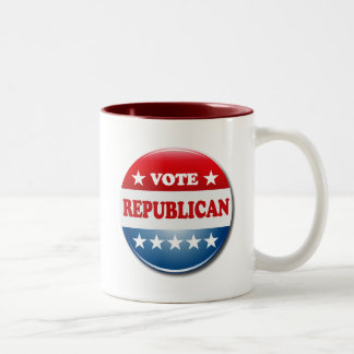 VOTE REPUBLICAN Two-Tone MUG