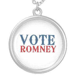 VOTE ROMNEY 2012 CUSTOM NECKLACE