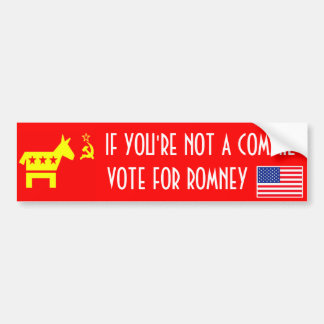 Vote Romney Bumper Sticker