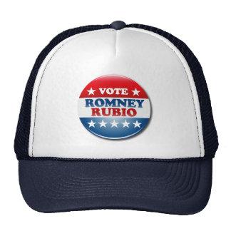 VOTE ROMNEY RUBIO VP ROUND.png Mesh Hats
