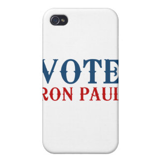 VOTE RON PAUL 2012 COVER FOR iPhone 4