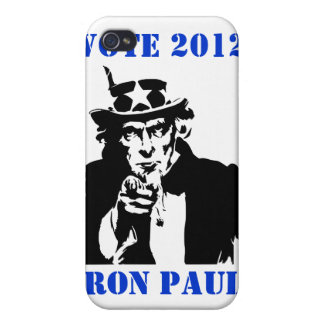 VOTE RON PAUL 2012 CASE FOR iPhone 4