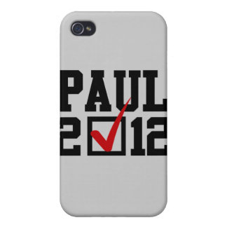VOTE RON PAUL 2012 CASES FOR iPhone 4