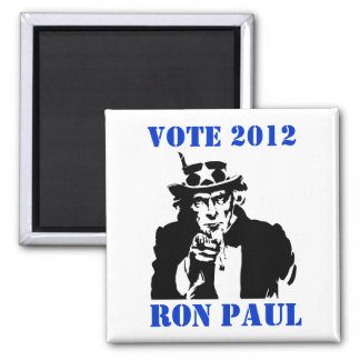 VOTE RON PAUL 2012 REFRIGERATOR MAGNETS