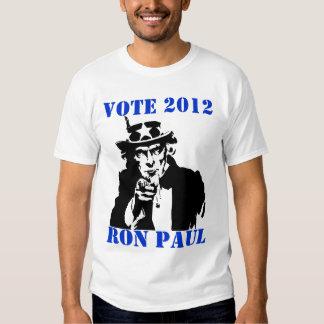 VOTE RON PAUL 2012 TEES