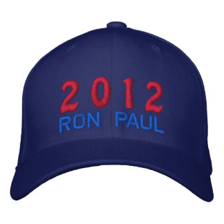 Vote Ron Paul for President 2012 Election Embroidered Hats