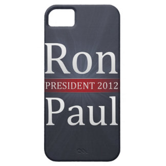 Vote Ron Paul for President in 2012 iPhone 5 Case