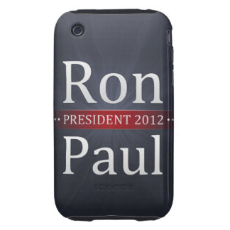 Vote Ron Paul for President in 2012 Tough iPhone 3 Cover