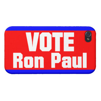 Vote Ron Paul iPhone 4 Cover