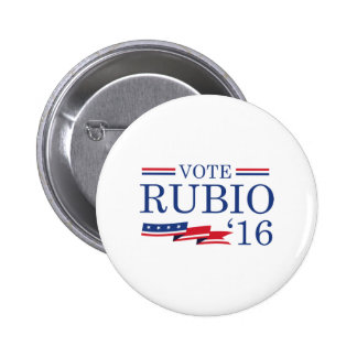 Vote Rubio 2016 6 Cm Round Badge