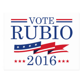 Vote Rubio 2016 Postcard