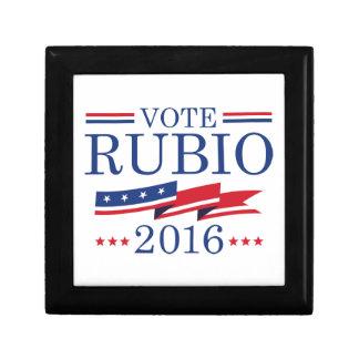 Vote Rubio 2016 Small Square Gift Box