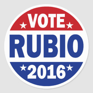 Vote Rubio 2016 Stickers