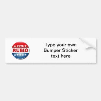 VOTE RUBIO CAR BUMPER STICKER