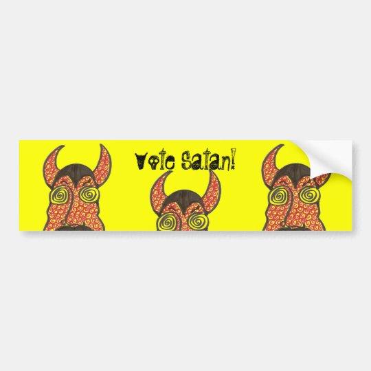 Vote Satan! Bumper Sticker