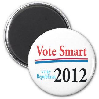 vote smart 6 cm round magnet