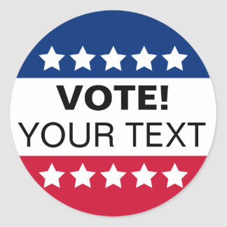 Vote Sticker