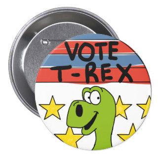 Vote T-Rex Pin