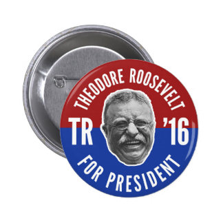 Vote Teddy 6 Cm Round Badge