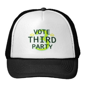 Vote Third Party Mesh Hats