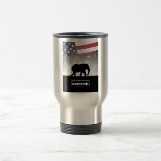 Vote This Way Stainless Steel Travel Mug