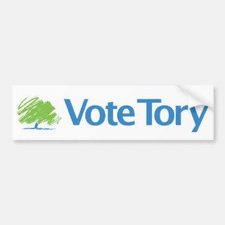 Vote Tory Bumper Sticker