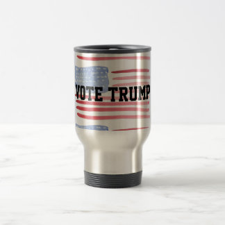 Vote Trump For Americans First USA Travel Mug
