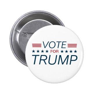Vote Trump for President 2016 6 Cm Round Badge