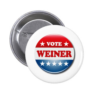 VOTE WEINER 6 CM ROUND BADGE