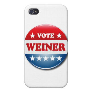 VOTE WEINER iPhone 4/4S COVERS