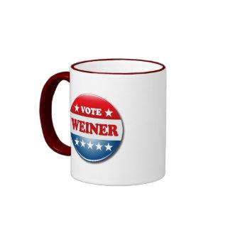 VOTE WEINER MUG