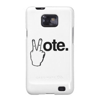 VOTE WITH YOUR FINGERS.png Samsung Galaxy SII Case