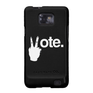 VOTE WITH YOUR FINGERS.png Galaxy SII Case