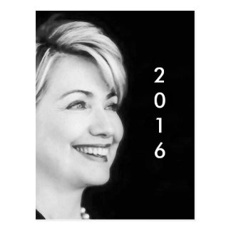 Vote Yes For Hillary in 2016 Postcard