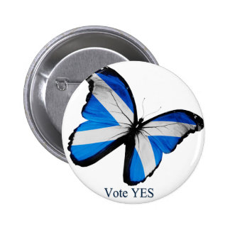 Vote Yes for Scottish Independence 6 Cm Round Badge
