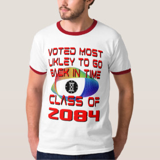 Voted Most Likely to Go Back In Time T-Shirt