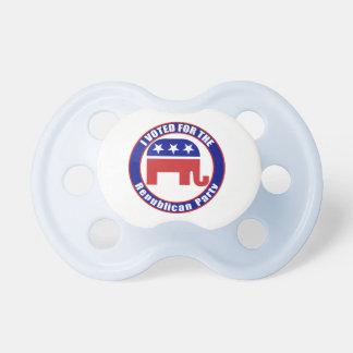 Voted Republican Original Pacifiers