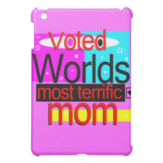 Voted Worlds Most Terrific Mom Ipad Speck Case Cover For The iPad Mini