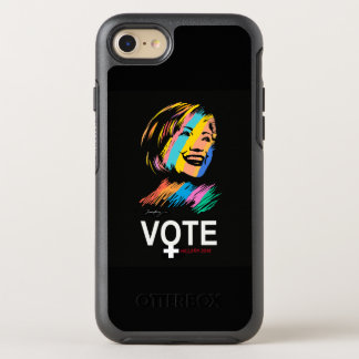 voteHILLARY2016 OtterBox Symmetry iPhone 8/7 Case