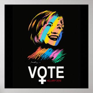 voteHILLARY2016 Poster