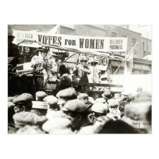 Votes for Women, August 1908 Postcard