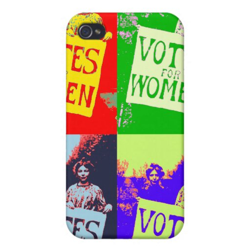 Votes for Women case iPhone 4/4S Cover