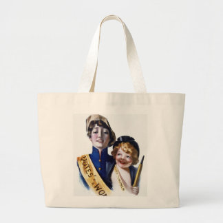 Votes for Women - Women's Suffrage, 1915 Jumbo Tote Bag