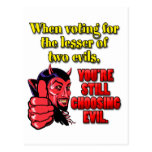 Voting for the Lesser of Two Evils